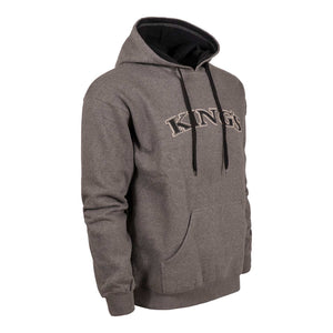 Classic Applique Hoodie in Charcoal | King's Camo