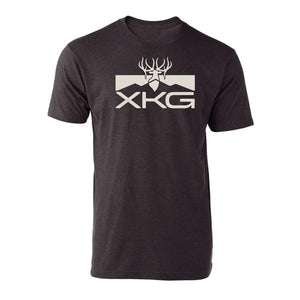 XKG Performance Tee in Heather Graphite | King's Camo