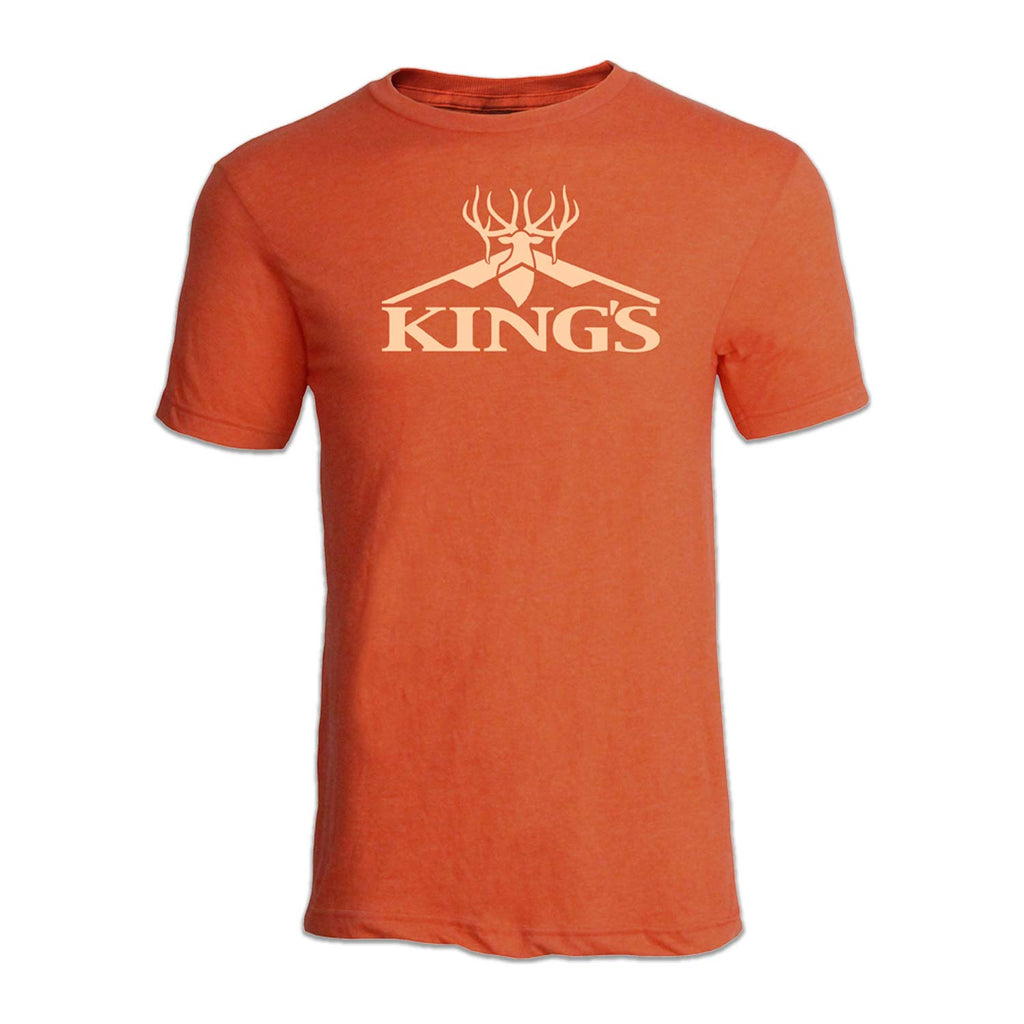 King's Peak Performance Tee in Heather Orange | King's Camo