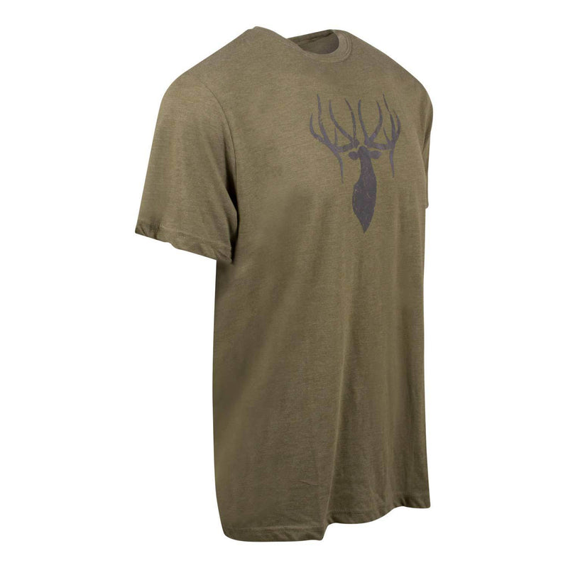 King's Triblend Tee in Heathered Olive | King's Camo