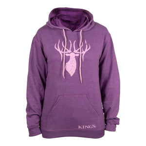 Women's Triblend Hoodie in Lavender | King's Camo