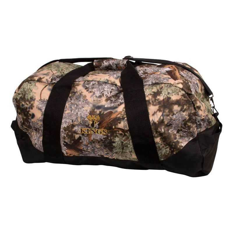 King's Logo Duffel Large in Desert Shadow | King's Camo