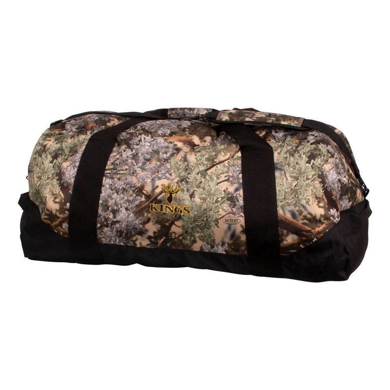 King's Logo Duffel X-Large in Desert Shadow | King's Camo