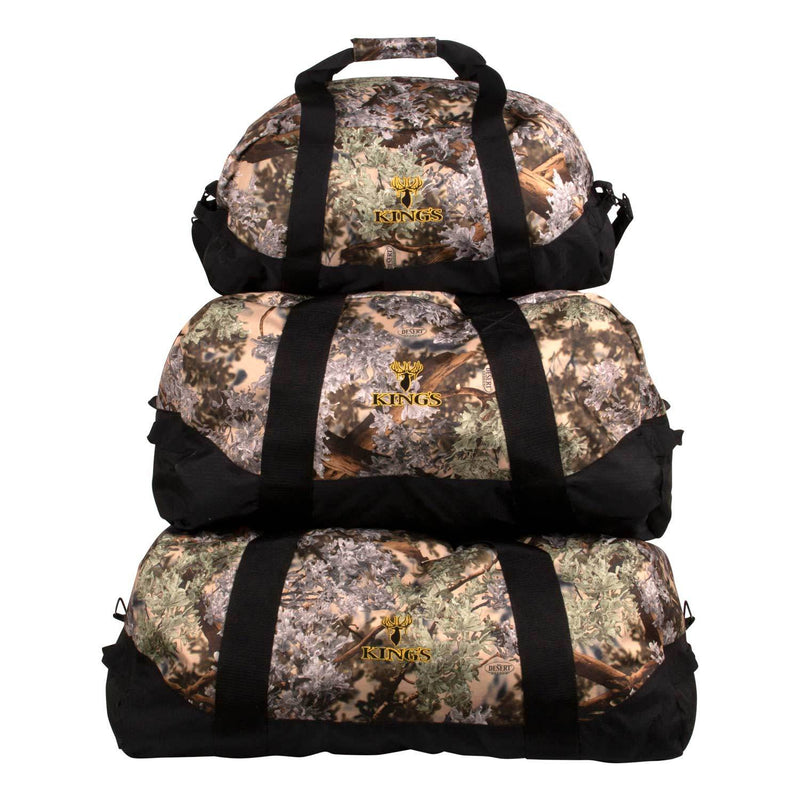 King's Logo Duffel in Desert Shadow | King's Camo