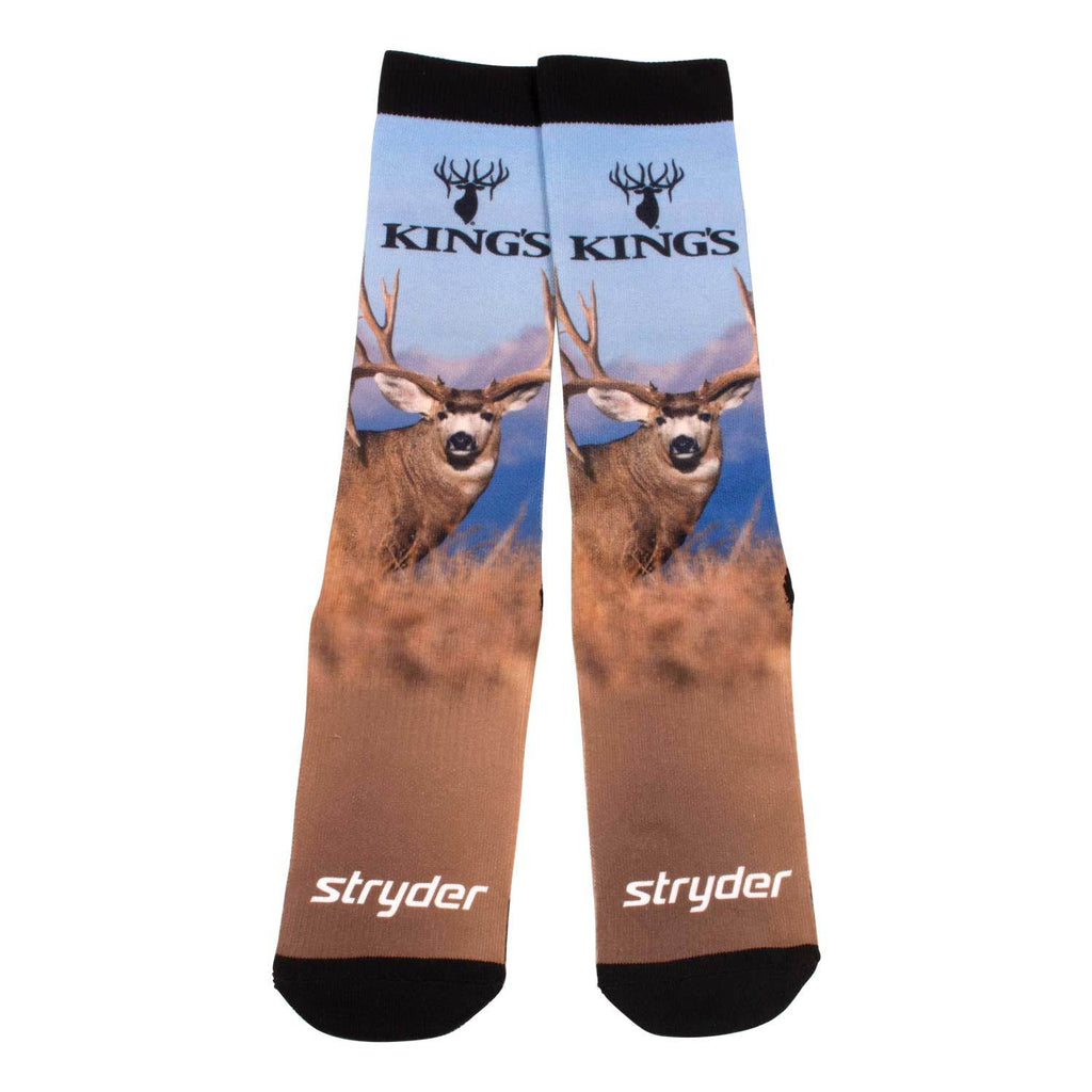 King's Mule Deer Graphic Socks | King's Camo