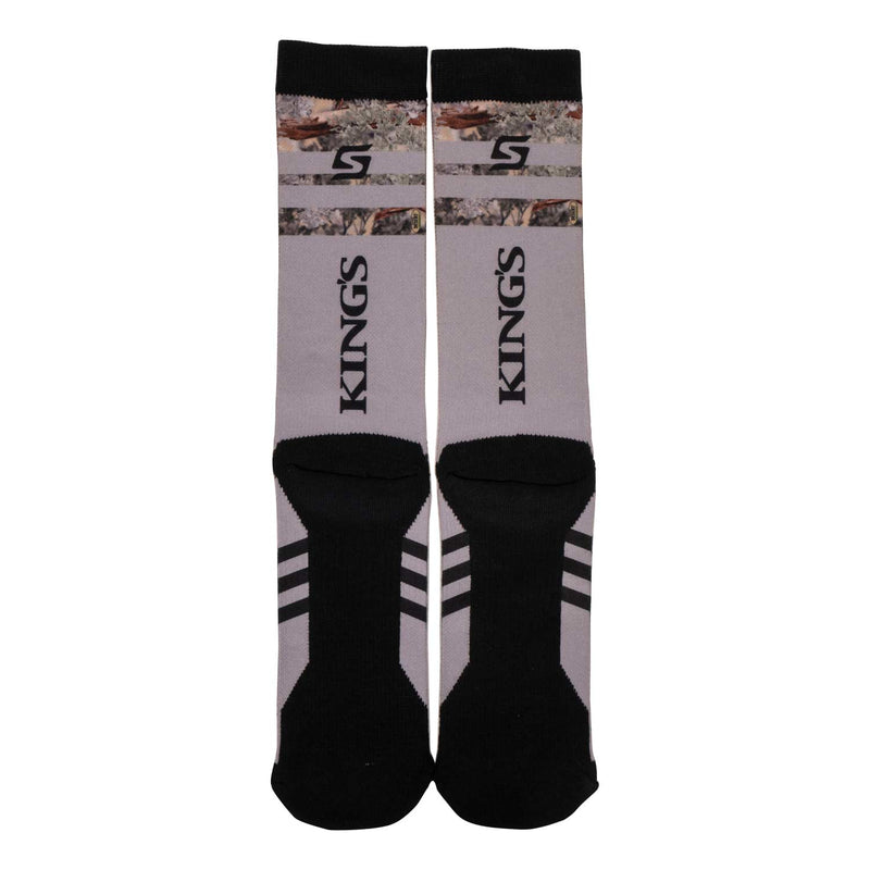 King's Graphic Socks in Grey | King's Camo