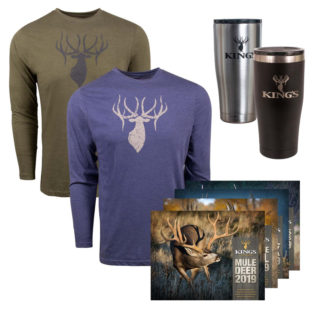 Triblend Tumbler Bundle | King's Camo