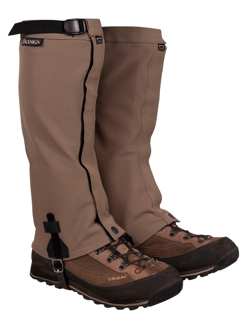 XKG Leg Gaiters in Dark Khaki | King's Camo