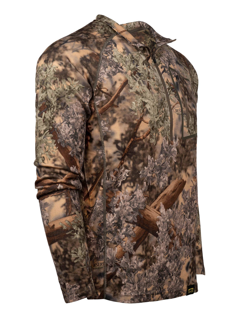XKG Foundation 260 Merino 1/4 Zip | King's Camo