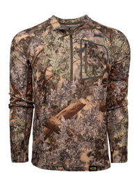 XKG Foundation 260 Merino 1/4 Zip Desert Shadow | King's Camo