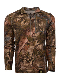 XKG Foundation 260 Merino 1/4 Zip Mountain Shadow | King's Camo