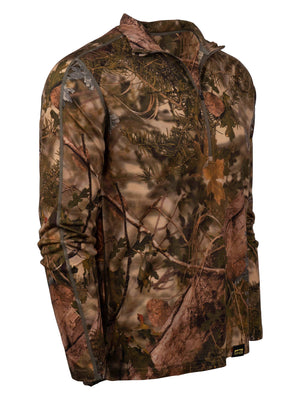 XKG Foundation 150 Merino 1/4 Zip in Mountain Shadow | King's Camo