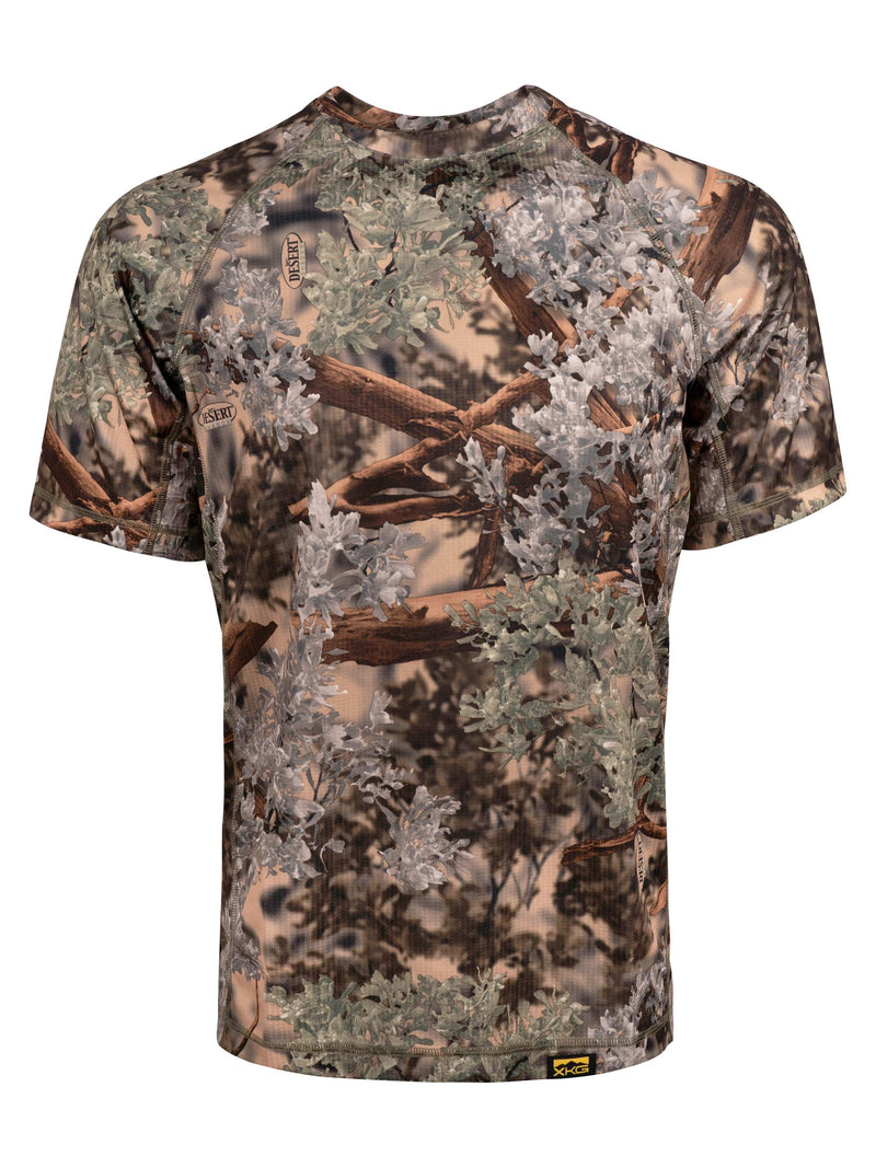 XKG Elevation Short Sleeve Tee in Desert Shadow | King's Camo