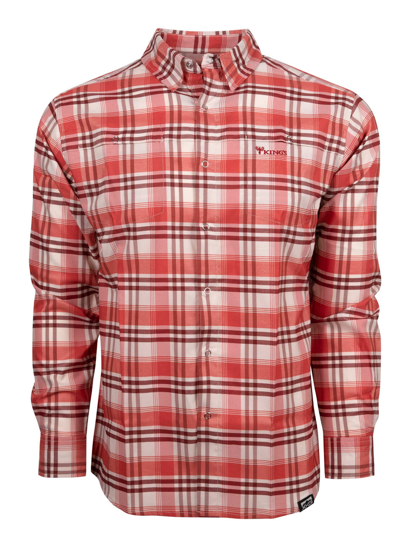 XKG Sonora Button-Up Shirt in Trout | King's Camo