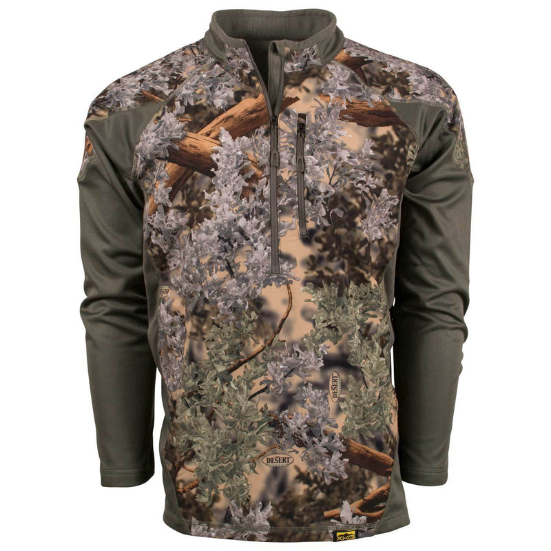 XKG Hightop 1/4 Zip Pullover Mountain Shadow | King's Camo