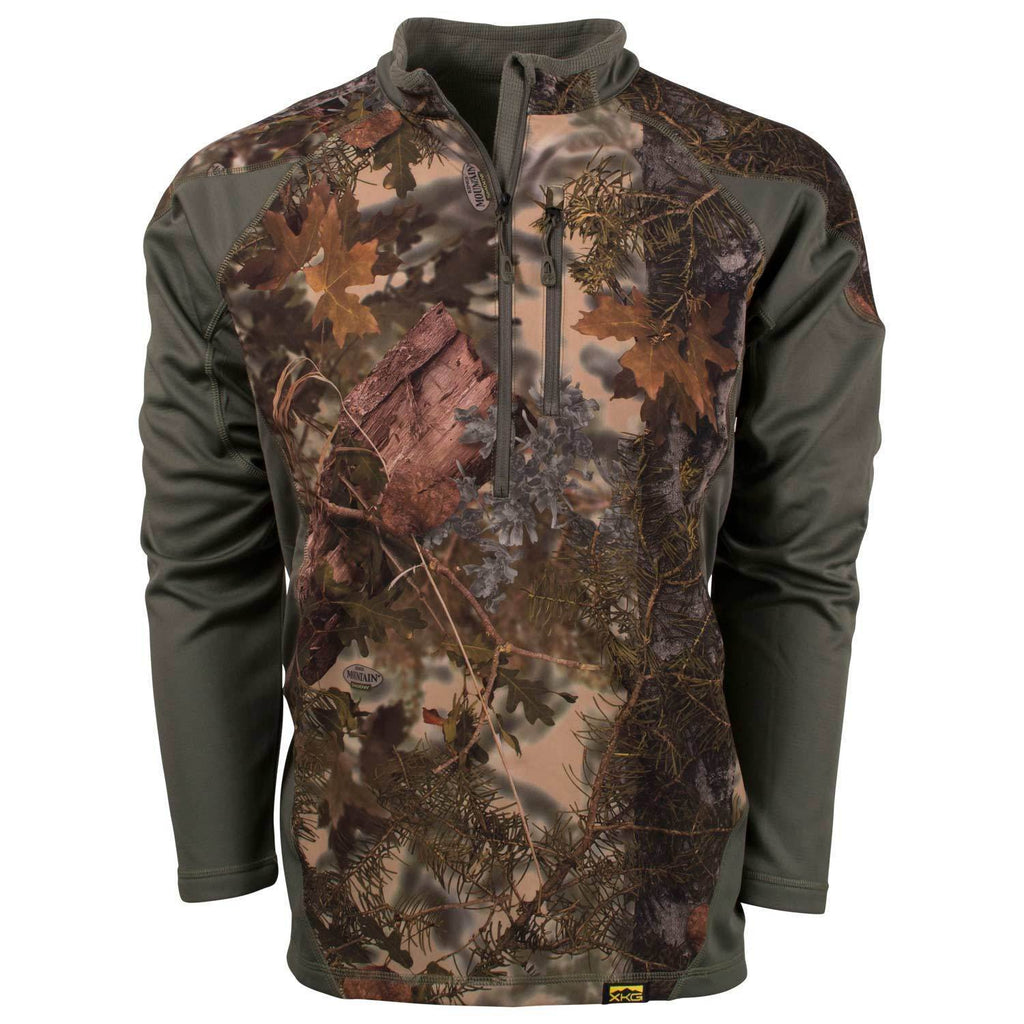 XKG Hightop 1/4 Zip Pullover Desert Shadow | King's Camo
