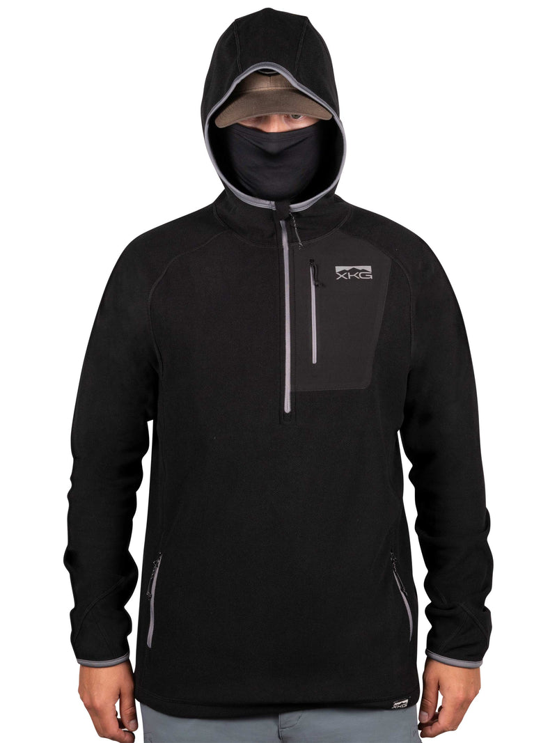 XKG Covert Hoodie in Black | King's Camo