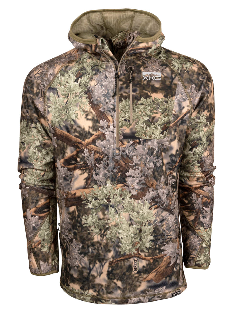 XKG Covert Hoodie in Desert Shadow | King's Camo