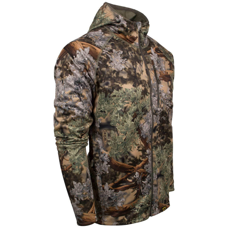 XKG Hightop Full-Zip Hoodie | King's Camo