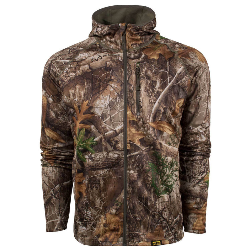 XKG Hightop Full-Zip Hoodie Realtree Edge | King's Camo