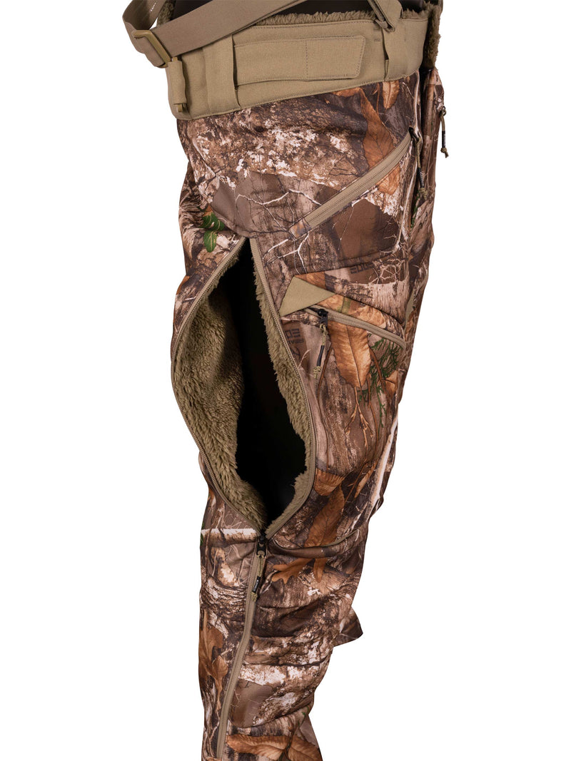 XKG Wind-Defender Bib Pant in Realtree EDGE | King's Camo