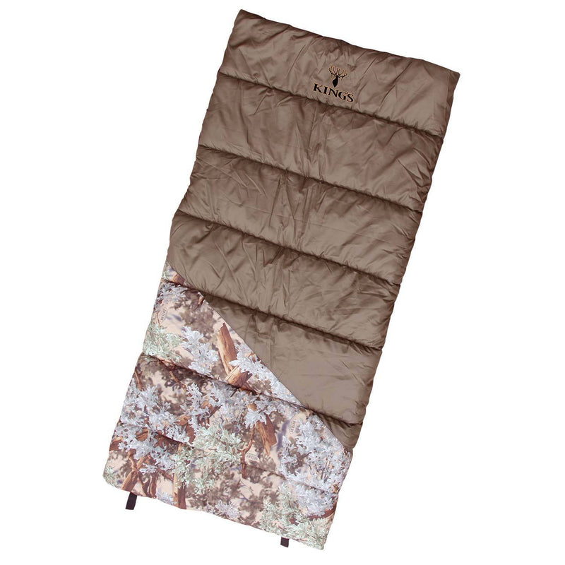 King's Camper +20 Degree Sleeping Bag | King's Camo
