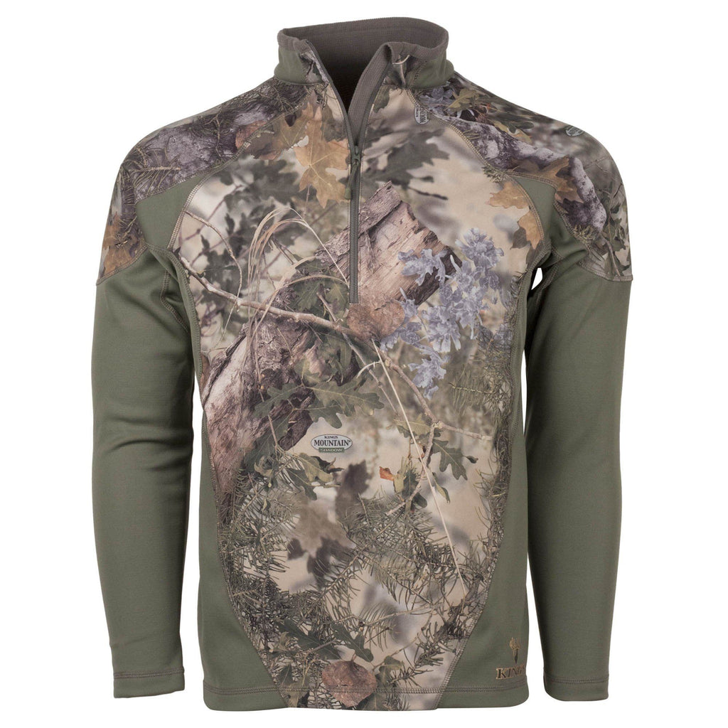 Closeout 2017 XKG Hightop 1/4 Zip Pullover | King's Camo