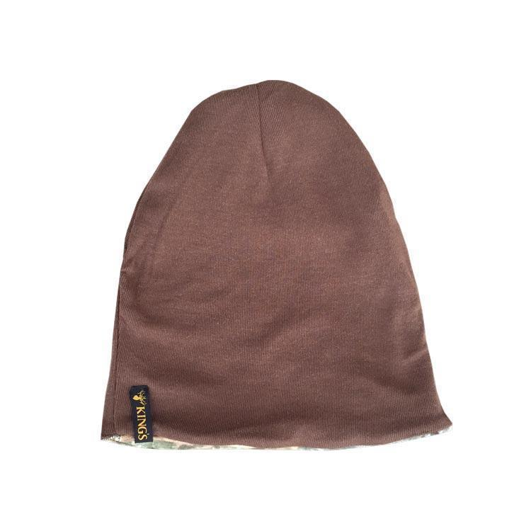 Classic Reversible Beanie in Woodland Shadow