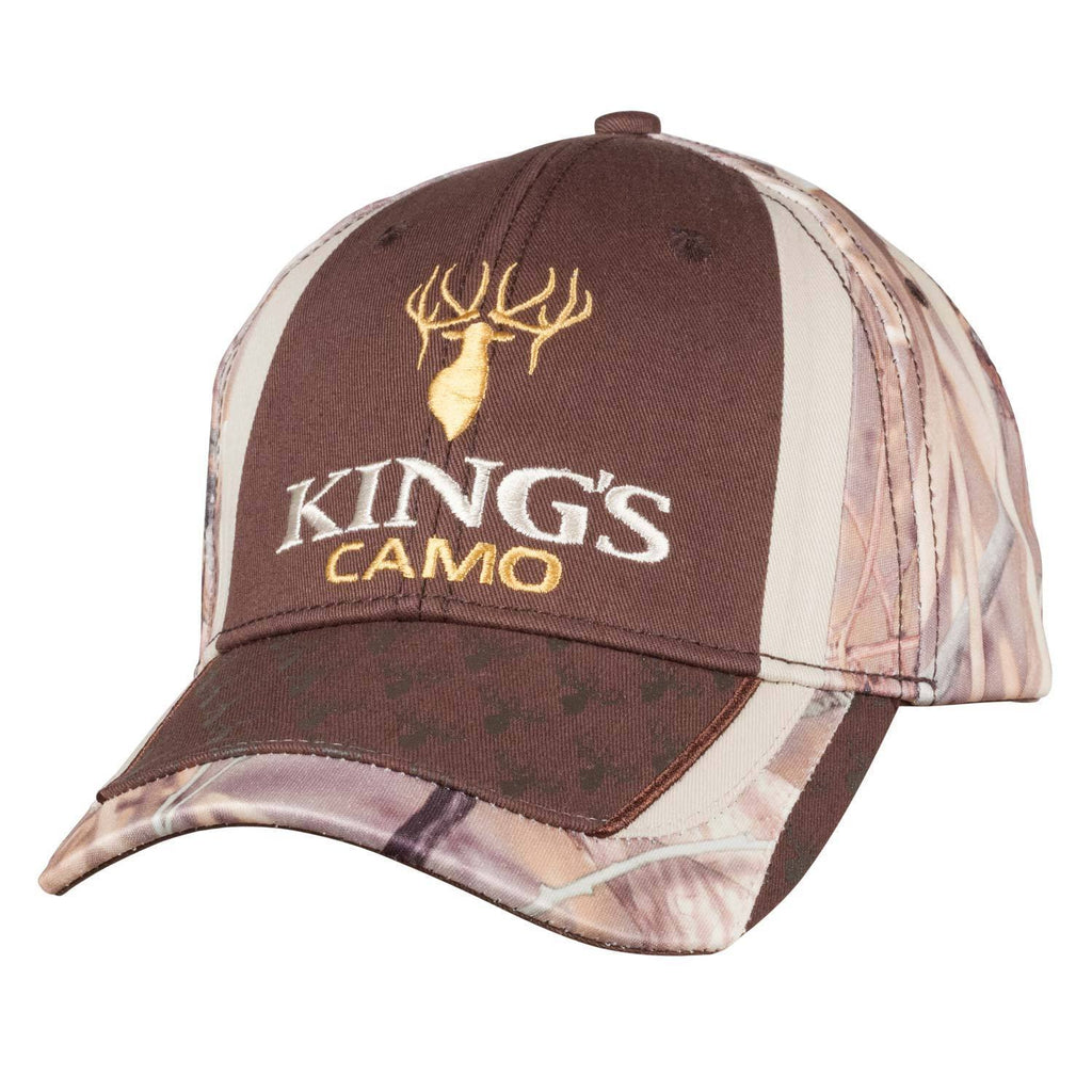 6 Panel Logo Hat in Field Shadow® | King's Camo