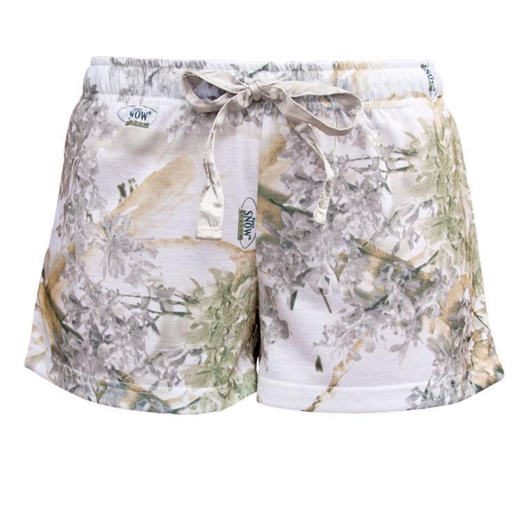Women's Teezer Shorts in Snow Shadow