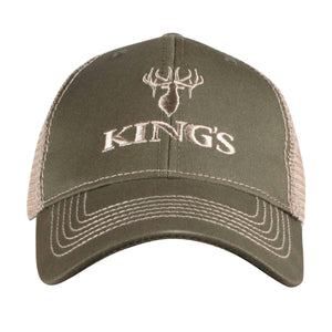 King's Logo Mesh Back Cap | King's Camo