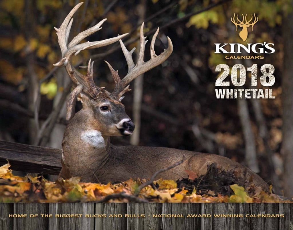 2018 King's Whitetail Calendar