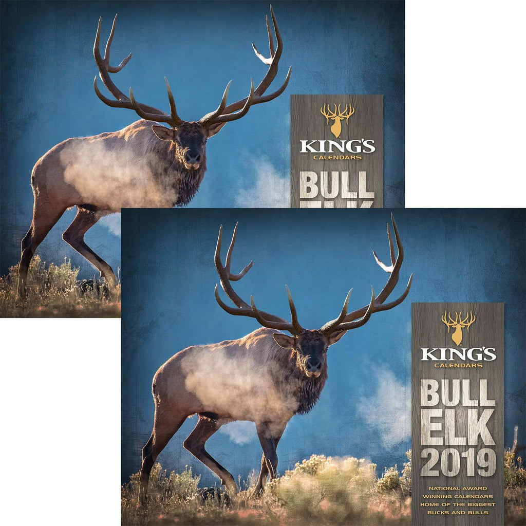 2019 King's Bull Elk Calendar TWIN Pack | King's Camo