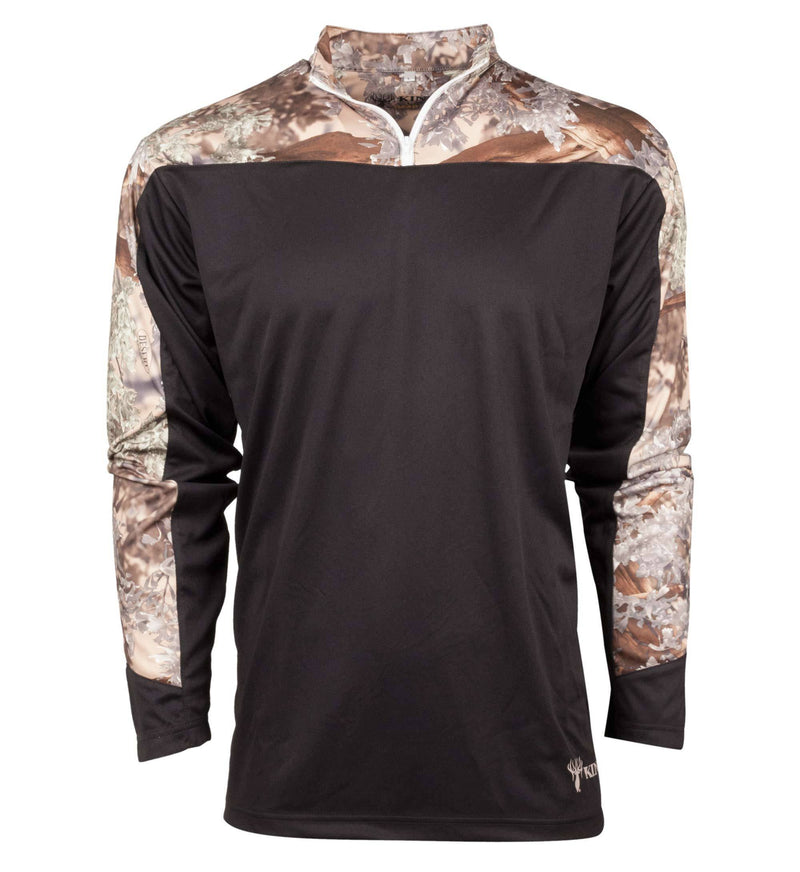 1/4 Zip Neck Sport Shirt