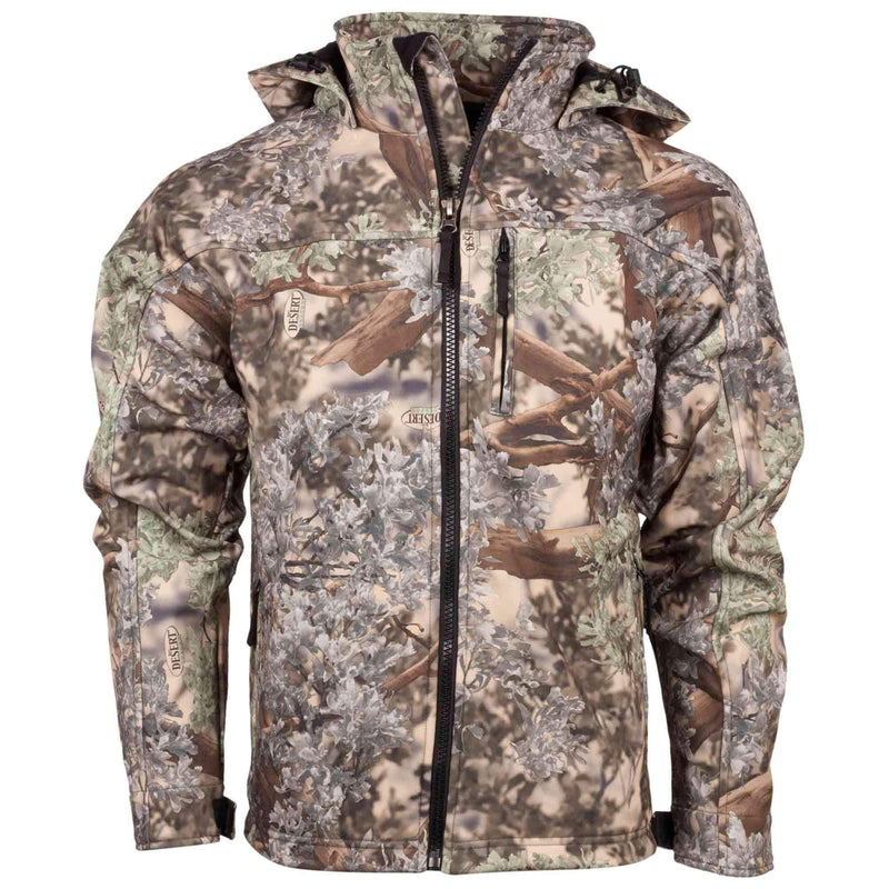 Guide's Choice Soft Shell Hooded Jacket | King's Camo