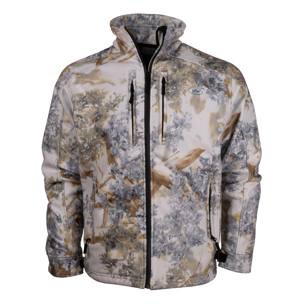 Guide's Choice Storm Fleece Jacket Snow Shadow | King's Camo