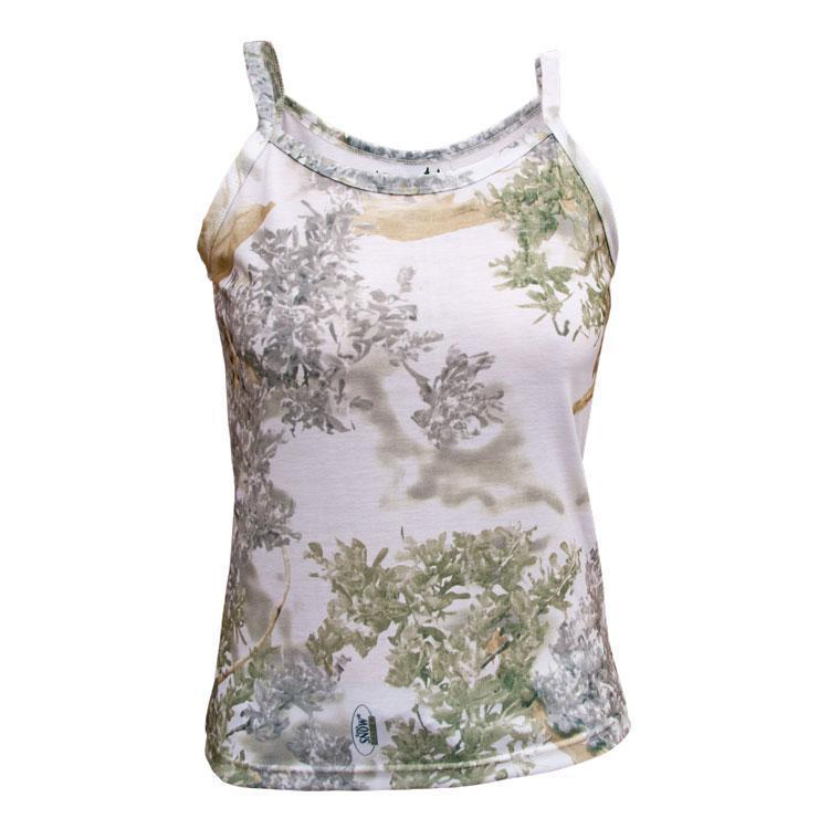 Women's Teezer Tank Top Snow Shadow | King's Camo