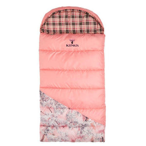 Hunter Series Jr. +25 Youth Sleeping Bag in Pink Shadow® | King's Camo