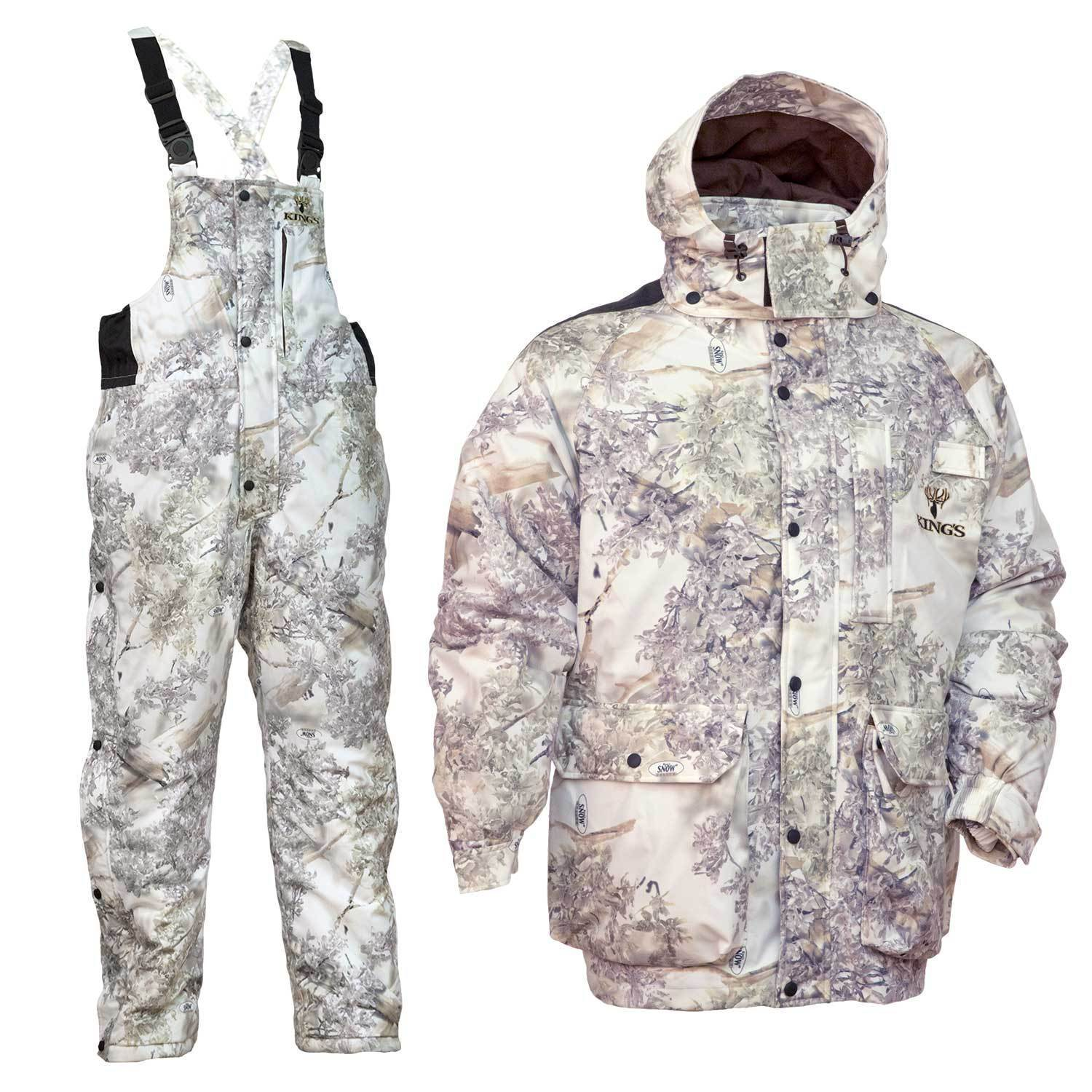 4ed295ed5f38 Snow Shadow® Camo Insulated Parka and Bib