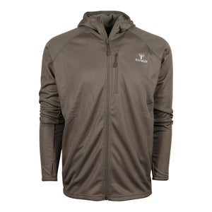 Hunter Full-Zip Fleece Hoodie