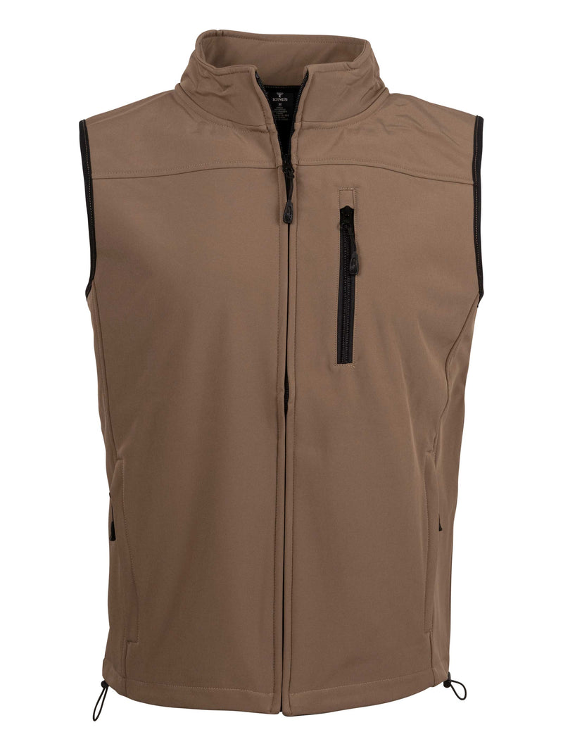 Hunter Vest in Dark Khaki | King's Camo