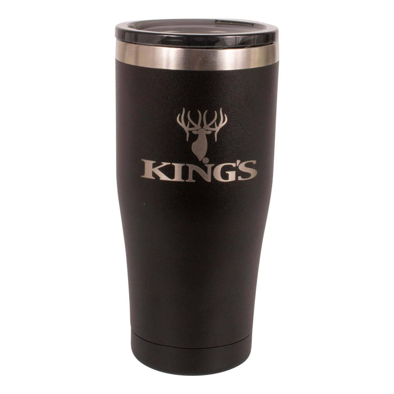 King's Logo Tumbler in Black | King's Camo