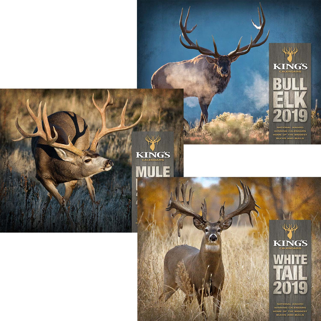 Pick ANY 3 Calendar Bundle | King's Camo
