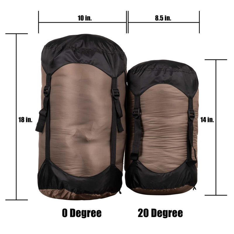 XKG Summit Mummy Bag Comparsion | King's Camo