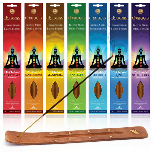 7 Chakras Natural Incense