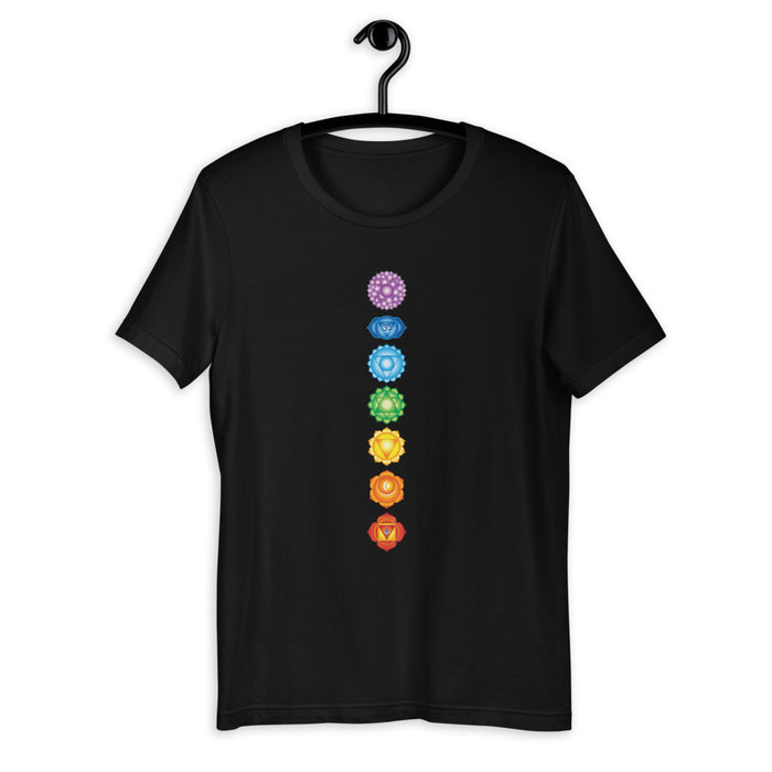 Chakras Essentials - Short-Sleeve Unisex T-Shirt