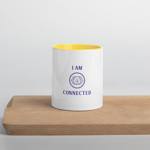 Sixth Chakra - I am connected - Mug with Color Inside