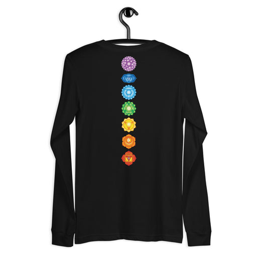 Chakras Essentials - Seven Chakras - Unisex Long Sleeve Tee