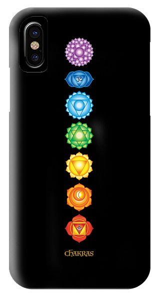7 Chakras - Phone Case