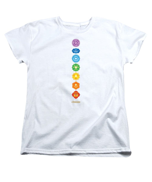 7 Chakras - Women's T-Shirt